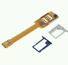Dual SIM adattatore per für Samsung Galaxy S6