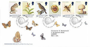 20-JANUARY-1998-ENDANGERED-SPECIES-ROYAL-MAIL-FIRST-DAY-COVER-SELBORNE-ALTON-SHS