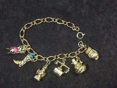 Vintage Avon Mini Charms Luck Bracelet