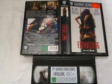 Enthüllung Sex ist Macht mit Douglas / Moore FSK frei ab 12 Jahre VHS gebraucht