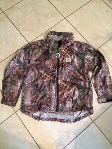 best authentic 6a964 445b0 Details about Dunbrooke NFL New York Giants Sportsman Windbreaker Jacket,  Real Tree Camo, L