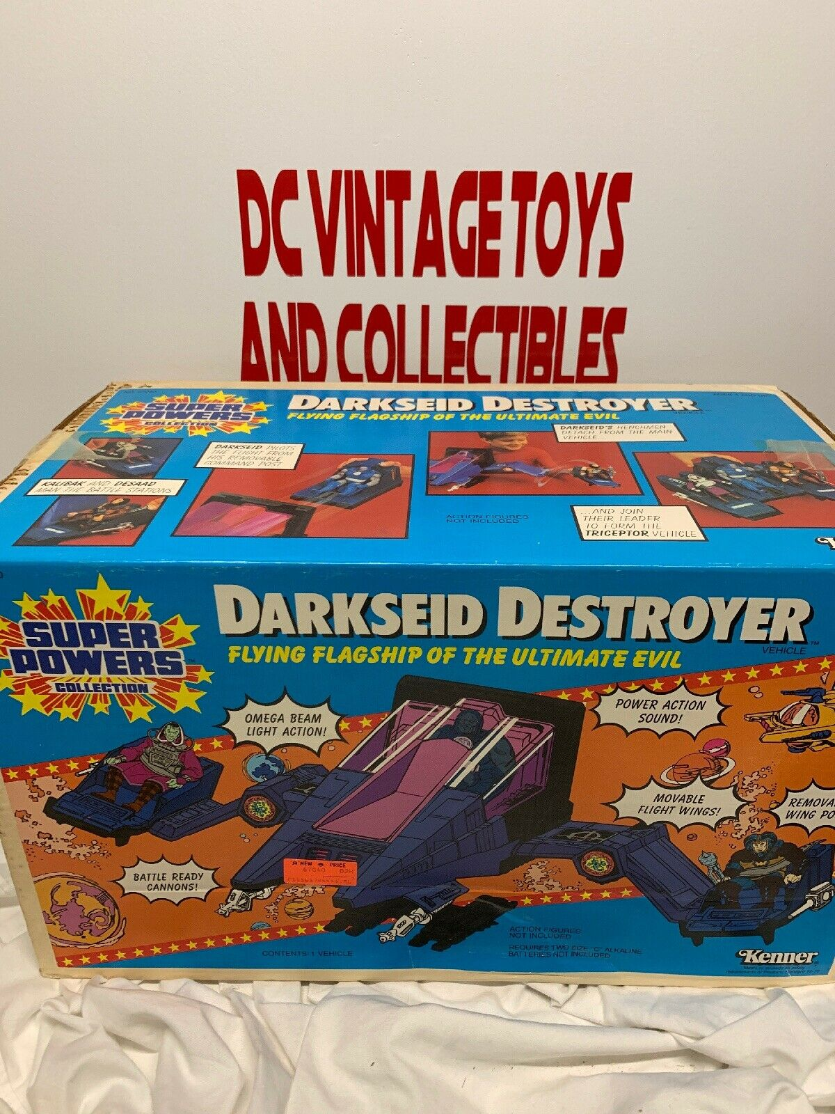 Vintage Kenner Super Powers DARKSEID DESTROYER   Factory Sealed
