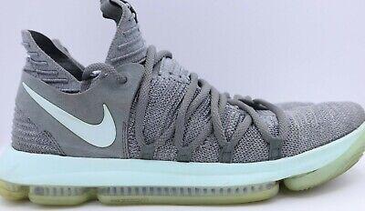 Nike KD 10 IGLOO / Cool Grey \u0026 Mint