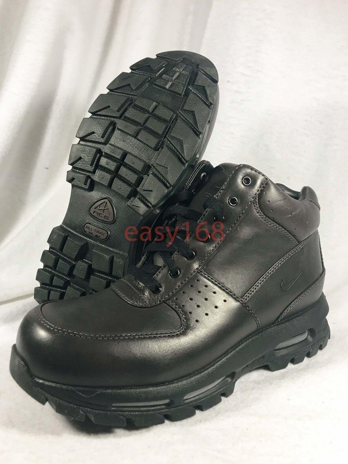 New Nike   Nike Air Max Goadome Sz 8.5 Brown 42 Boots Waterproof 360 Leather 865031 417f02