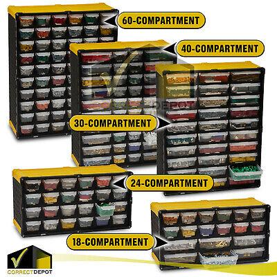 HARDWARE Small Parts Storage ORGANIZER Portable Cabinet ...