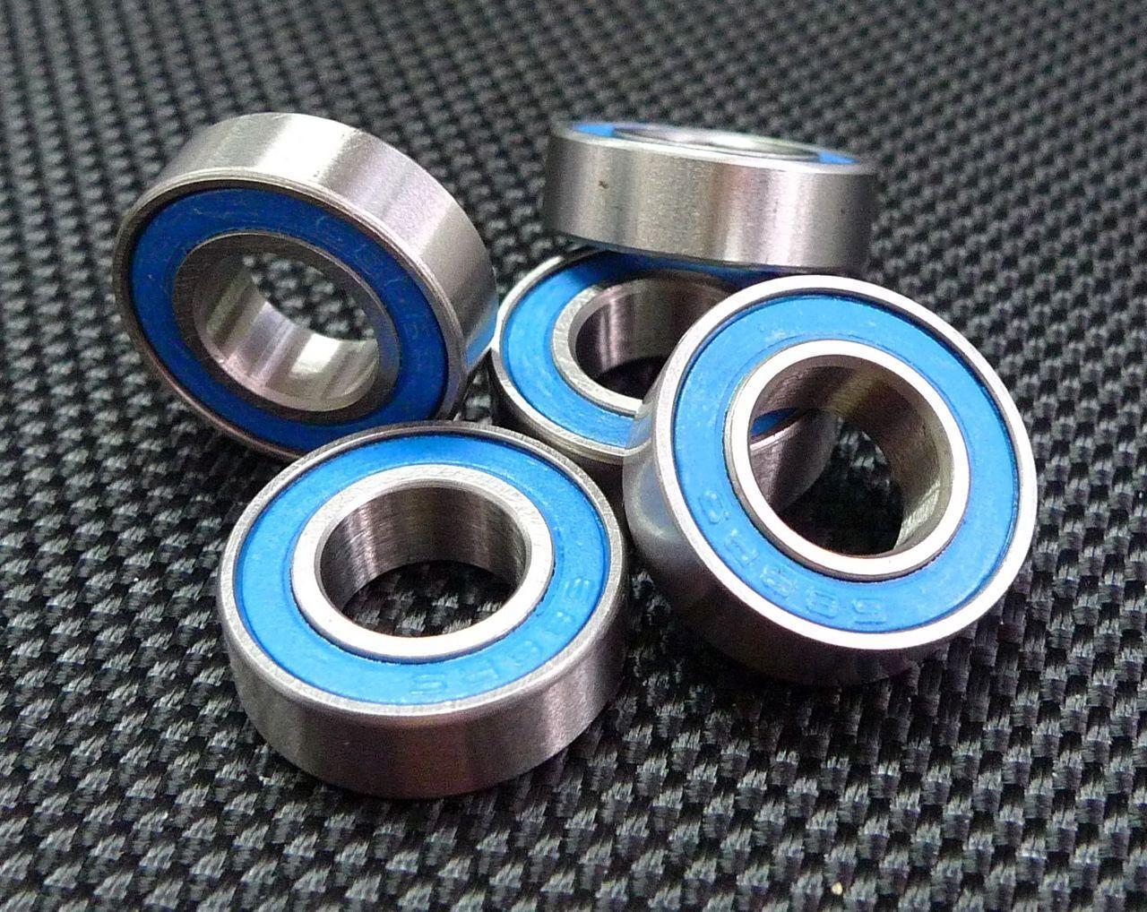 [100] 688-2rs pcs (8x16x5 mm) - kugellager mit blauen 688rs 8   5.