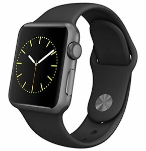 Apple Watch Series 1 (GPS, 42MM) - Space Gray Aluminum Case with Black Sport