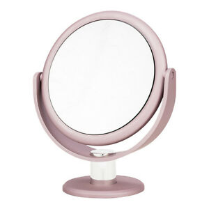 Image Is Loading Blush Pink Metallic Soft Touch Vanity Tabletop Beauty