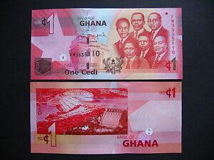 GHANA-1-Cedi-6-3-2013-P37d-UNC