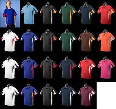 Eureka,Kids,3304,Polo Shirt,Teamwear,Sport,Club,Racing,Netball,School,Football