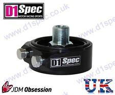 D1 Spec Filtro olio Sandwich Piastra Adattatore Nero m20xp1.5 JDM Drift Racing