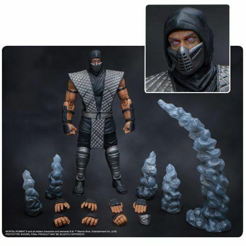 1 12 tormenta Coleccionables Mortal Kombat humo Exclusivo Figura de PVC
