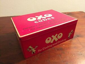 Collectable-c1955-Vintage-Oxo-Tin-24-x-6-039-s