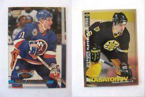 1995-96 Collector's Choice #115 Kasatonov Alexei PLATINUM player's club  bruins