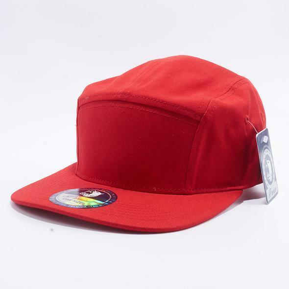 YuPoong Classic 7005 5 Panel Hat Camper Cap Supreme Low Profile Tiger Camo