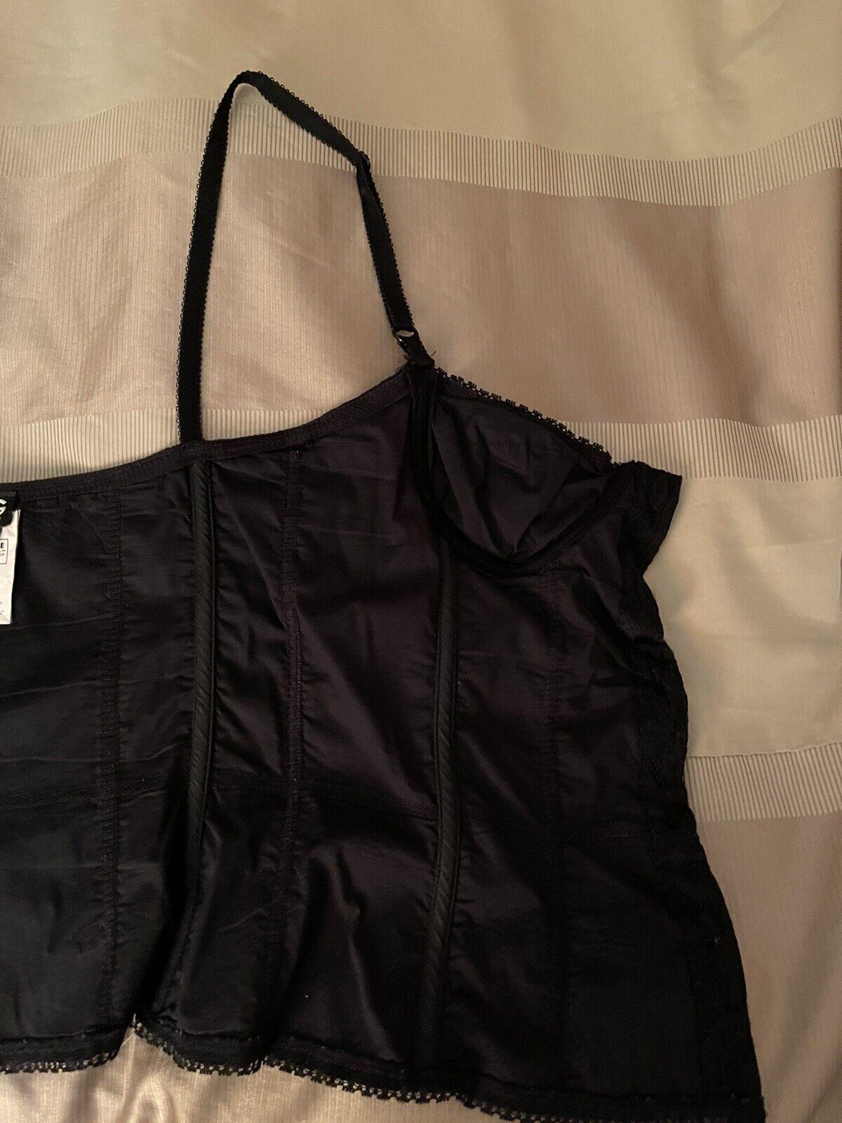 Dolce& Gabbana Black Lace Corset Top Size 26/40 - image 9