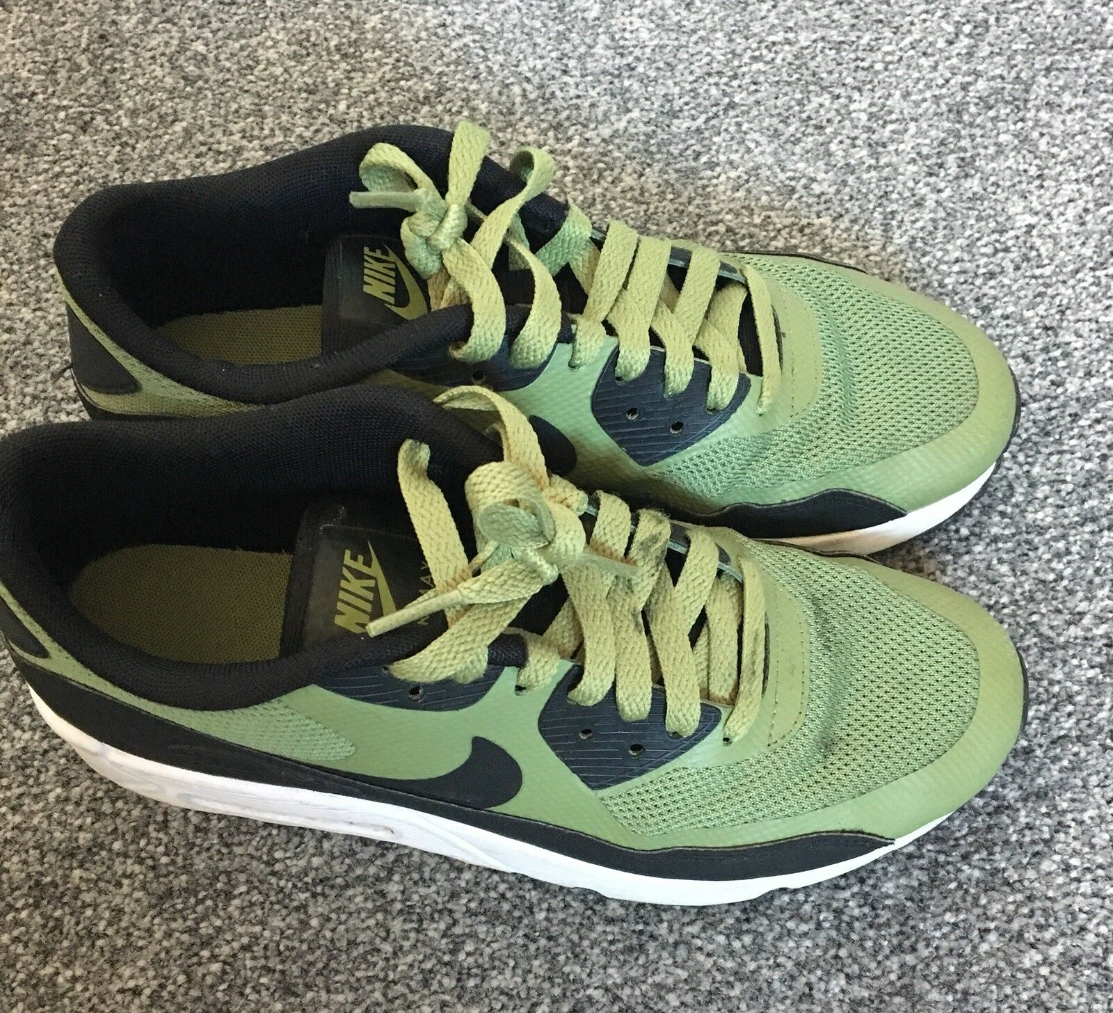 Khaki Green Air Max Trainers Comfortable Great discount