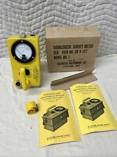 Victoreen Instrument Cdv 717 Model 1 Civil Defense Radiation Detector 42608