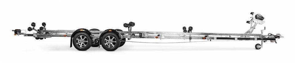 Trailer, Brenderup Brenderup SRX - 3500 KG - 30 fod,