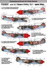 FO48007/ Foxbot Decals - Lavotschkin La-7 - 1/48 - TOPP DECALS
