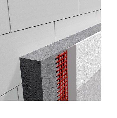 Geschickt Wdvs Fassaden Putz System 40 Mm 0,35 Neubau Incl Zubehör Je Qm Ab 8,30 Euro Putz Heimwerker