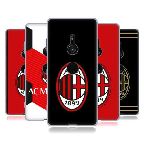 Oficial AC Milan 2018/19 Crest Gel Suave Estuche Para Sony Teléfonos 1