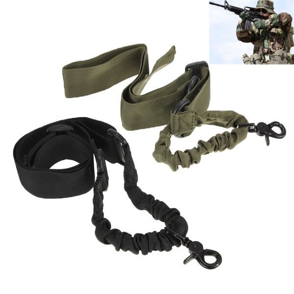 New Tactical ACU New--One Single 1 Point Bungee Adjustable Sling N