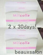 New! Lot2, Suntory Milcolla, Collagen powder 195g (30days) x2 (=total 60days)