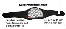 Iyashi Magnetic & Infrared Neck Support Wraps - Far Infrared therapy