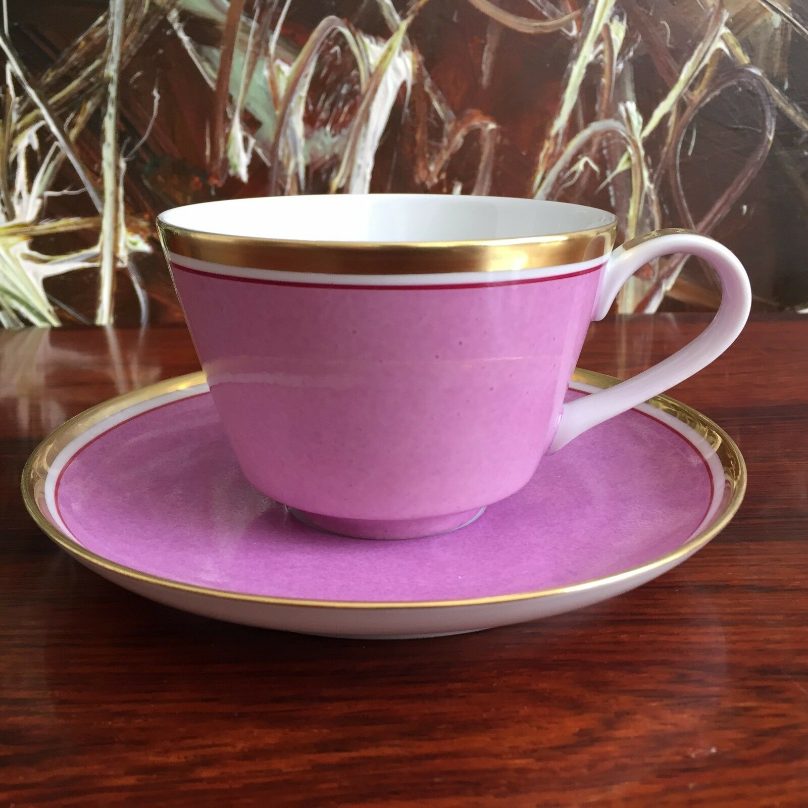 REICHENBACH Colour Collection, Kaffeetasse mit Untertasse purplet 0,22 Liter -