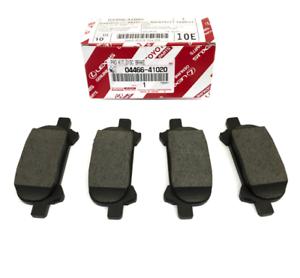 Toyota Genuine Parts 04466-41020 Rear Brake Pad Set