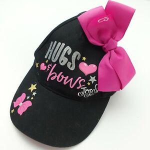 Hugs & Bows JoJo Siwa Girls Ball Cap Hat Adjustable Baseball
