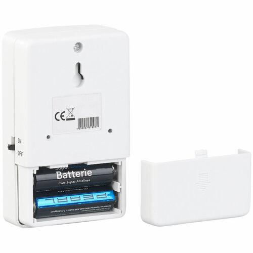 PIR-Bewegungssensor Batterie-Funk-Durchgangsmelder Klingel-Funktion