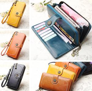 Leather-Wallet-Women-Large-Capacity-Clutch-Purse-Luxury-Phone-Holder-Handbag-S-L
