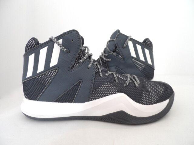 de3dc8a7e adidas Men s Crazy Bounce Basketball Shoe Onix White LGH Solid Grey Size 12