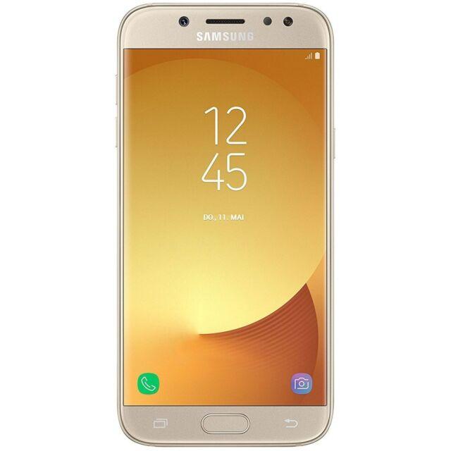 Samsung Galaxy J5 (2017) SM-J530FN Gold Android Smartphone Handy ohne Vertrag