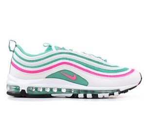 Details about Nike Air Max 97 South Beach Mens 921826 102 White Kinetic Green Shoes Size 9