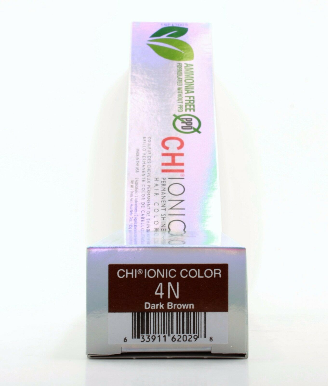Chi Ionic Permanent Haircolor 4n Dark Brown 3oz Ebay