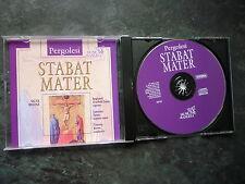 PERGOLESI STABAT MATER SALVE REGINA LAWRENCE ZAZZO TIMOTHY BROWN CD EXC
