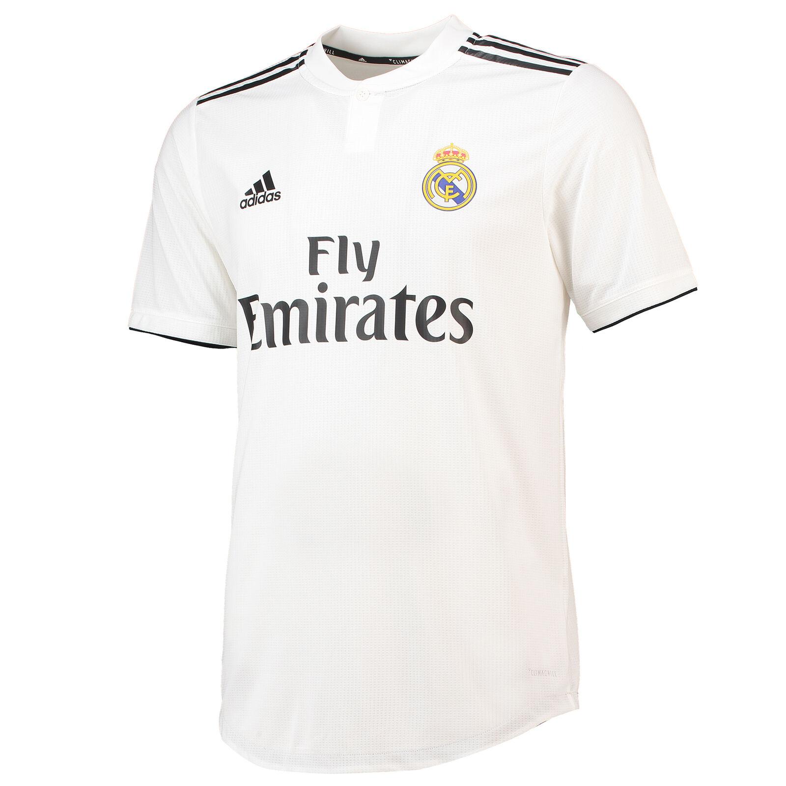 Real MADRID Auténtico Camisa 2018 19 para hombre Adidas Football