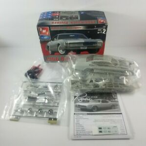 New-Open-Box-AMT-ERTL-1966-Buick-Riviera-Model-Car-Kit-30083-1-25-Scale-Skill-2