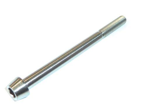 M10 X 1.25 X 100 Feingewinde Titan Bänder Innensechskant Kopfschraube GR5 Ti