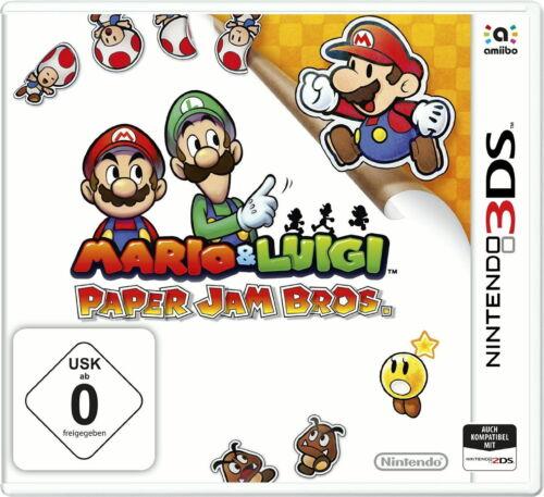 1 von 1 - Mario & Luigi: Paper Jam Bros. (Nintendo 3DS, 2015, Keep Case BOX)