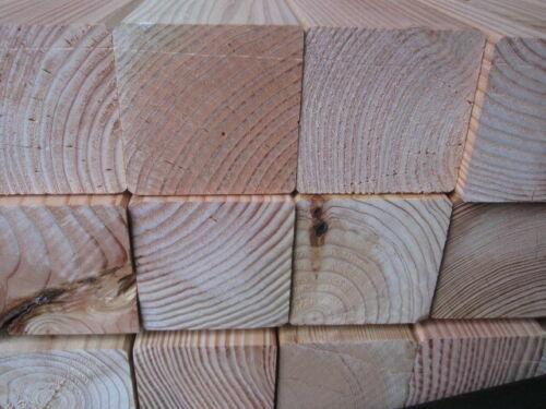 9x9x300 cm Douglasie Pfosten 2.Wahl Holz Restposten Lärche Gartenhaus Kantholz