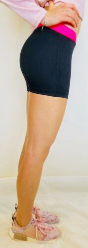 SYNDICATE Womens Fitness Yoga Gym Compression Shorts Sports Black Tights Lycra