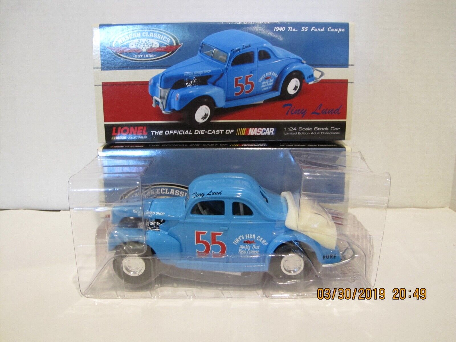 Tiny Lund 1940 Ford Coupe  55 1 24