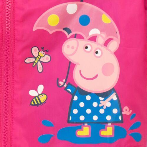 Girls Peppa Pig MacPeppa Pig RaincoatGirls Peppa Pig Jacket