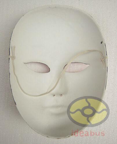 1//2//3//4PCS Pâte à papier peint main Costume Fête Opéra de Pékin Male /& Female Mask