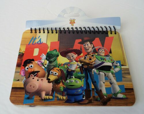 Toy Story 4 Woody Buzz /& Gang Autograph Book 29711 Playtime Disney//Pixar