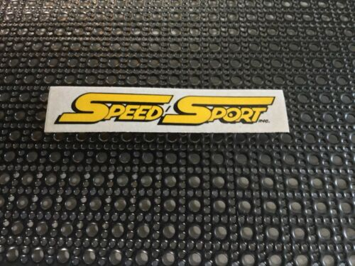 Cal RC SHOP STICKER DECAL RC10 JRX2 Tamiya Vintage SPEED SPORT Early So